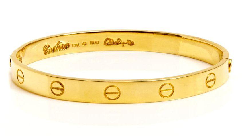 Cartier jewelry designers love bracelet