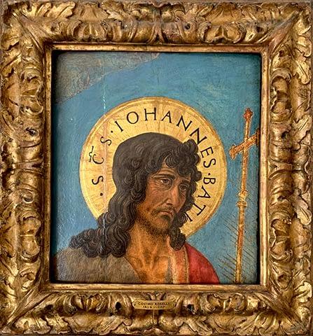 Private art sales Cosimo Rosselli, Head of John the Baptist