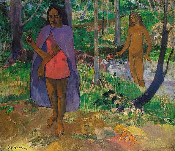 Private art sales Paul Gauguin, Incantation