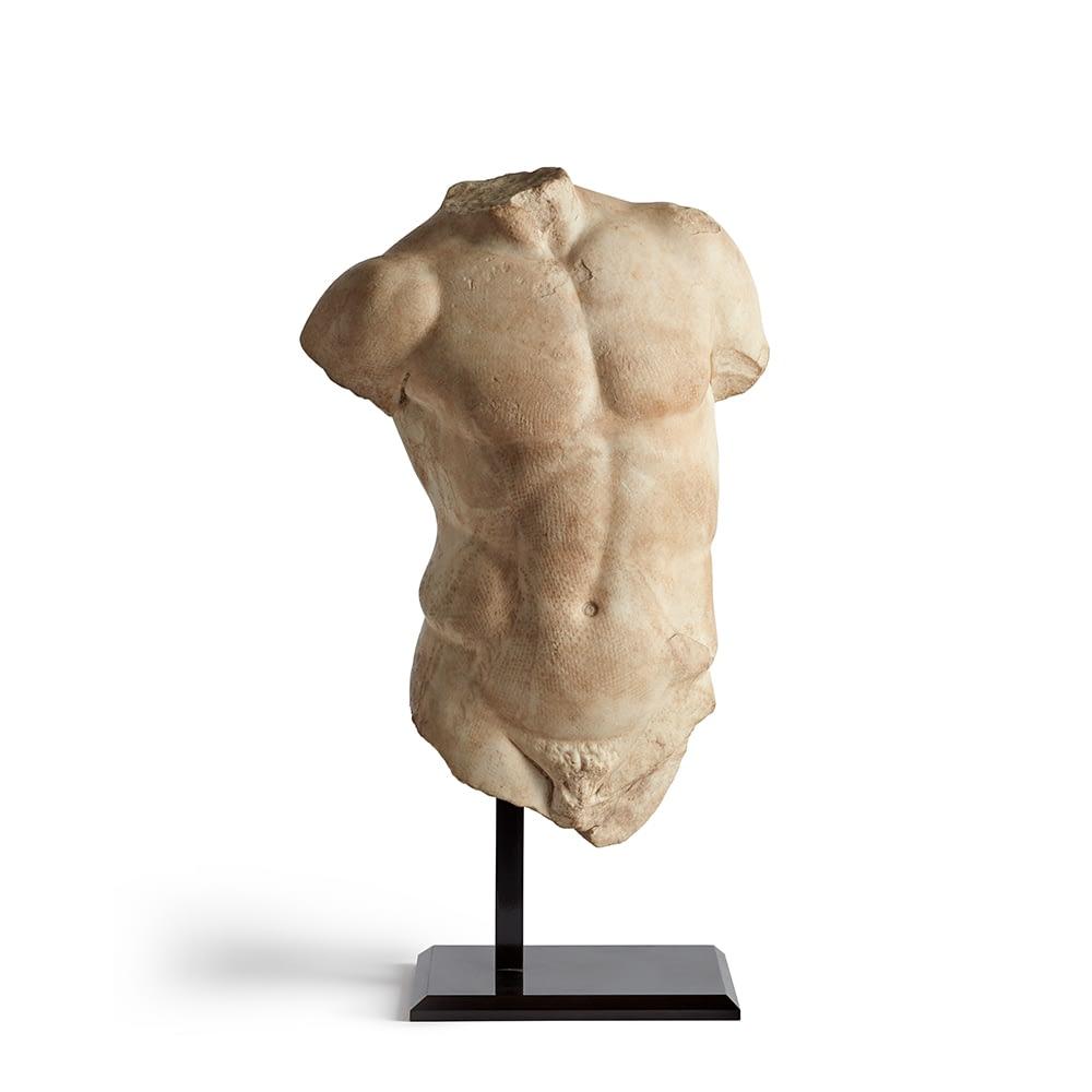 Greco Roman Marble Torso