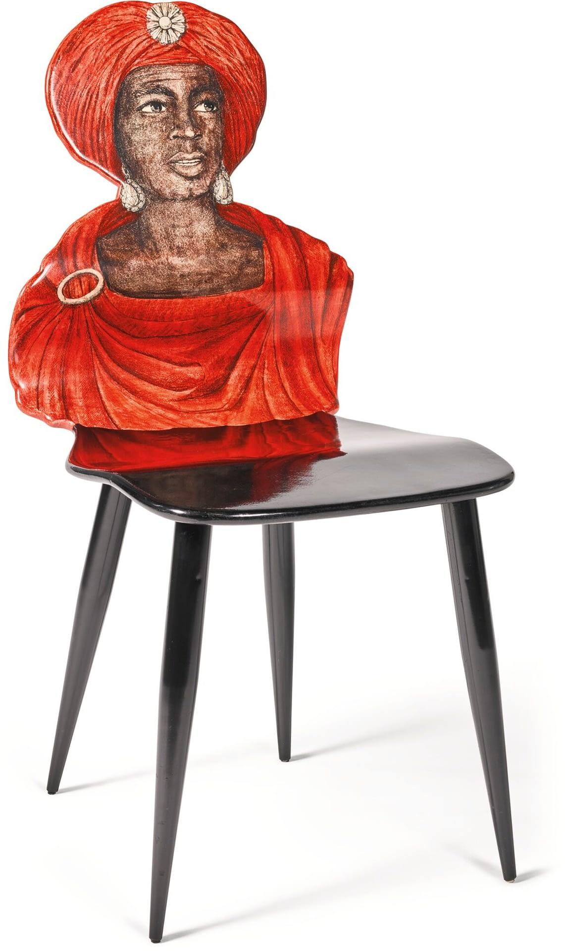 Fornasetti furniture fornesetti moro chair 1950
