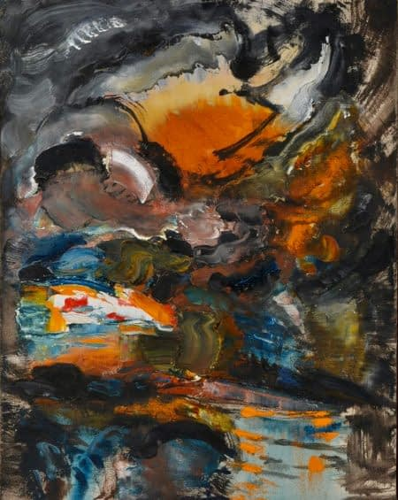 Maggi Hambling Paintings Untitled