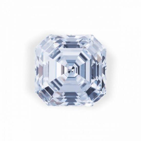 Rare gems for sale exceptional white asscher cut diamond